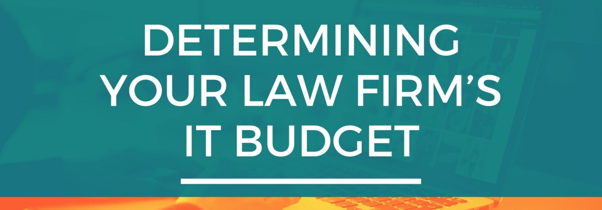 law firm it budget